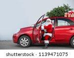 Authentic Santa Claus In Car...