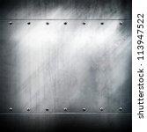 metal plate | Shutterstock . vector #113947522