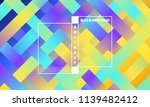 geometric background with... | Shutterstock .eps vector #1139482412