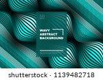 curve lines background. vector... | Shutterstock .eps vector #1139482718
