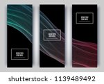trendy geometric background.... | Shutterstock .eps vector #1139489492