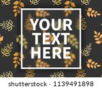 template for your business....   Shutterstock .eps vector #1139491898