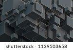 abstract 3d rendering of... | Shutterstock . vector #1139503658
