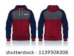 hoodie shirts template.jacket...   Shutterstock .eps vector #1139508308
