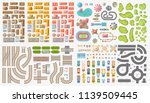 set of landscape elements. city.... | Shutterstock .eps vector #1139509445