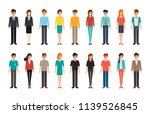 group of people diversity.... | Shutterstock .eps vector #1139526845