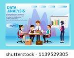 3d infographic business data...   Shutterstock .eps vector #1139529305