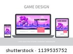 cartoon game design ui concept...