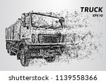 truck of the particles. the...   Shutterstock .eps vector #1139558366