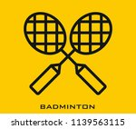 badminton icon signs