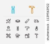 housework icons set....