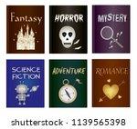 literary book icon set  ...   Shutterstock .eps vector #1139565398