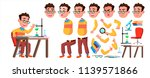 boy schoolboy kid vector. high... | Shutterstock .eps vector #1139571866