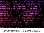 dark pink vector polygonal... | Shutterstock .eps vector #1139603612