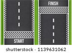 finish line racing background... | Shutterstock .eps vector #1139631062