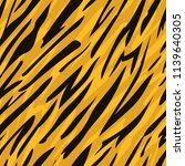 tiger skin seamless pattern.... | Shutterstock .eps vector #1139640305