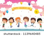 vector illustration of cartoon... | Shutterstock .eps vector #1139640485