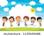 vector illustration of cartoon... | Shutterstock .eps vector #1139640488
