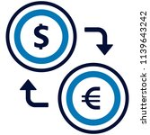 foreign exchange icon | Shutterstock .eps vector #1139643242