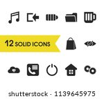 ui icons set with energy  house ...