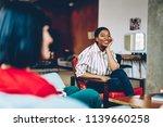 positive pretty african... | Shutterstock . vector #1139660258