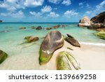 stones and sand at the tropical ... | Shutterstock . vector #1139669258