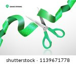 grand opening with glitter... | Shutterstock .eps vector #1139671778