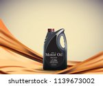 engine or motor oil on the... | Shutterstock .eps vector #1139673002