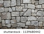 stone wall texture with copy... | Shutterstock . vector #1139680442
