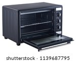 electric toaster oven | Shutterstock . vector #1139687795