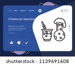 quality one page chemical... | Shutterstock .eps vector #1139691608