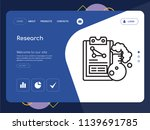 quality one page research...   Shutterstock .eps vector #1139691785