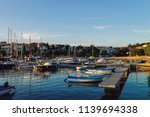 marina with boats at adriatic... | Shutterstock . vector #1139694338