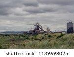south gare steel works....   Shutterstock . vector #1139698025