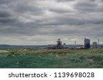 south gare steel works....   Shutterstock . vector #1139698028