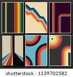 vector set of backgrounds from... | Shutterstock .eps vector #1139702582