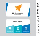 notification business card...
