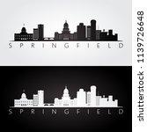 springfield  usa skyline and...   Shutterstock .eps vector #1139726648