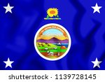 3d standard of the governor of... | Shutterstock . vector #1139728145
