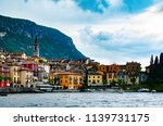 the panorama view of colorful... | Shutterstock . vector #1139731175