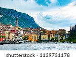 the panorama view of colorful... | Shutterstock . vector #1139731178