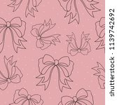 seamless pattern with... | Shutterstock .eps vector #1139742692