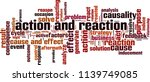 action and reaction word cloud... | Shutterstock .eps vector #1139749085