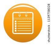 calendar list icon. simple...