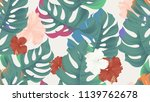 tropical seamless pattern ... | Shutterstock .eps vector #1139762678