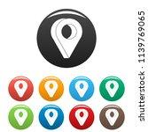 destination icon. simple...   Shutterstock . vector #1139769065