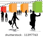 business in growth and business ... | Shutterstock .eps vector #11397763