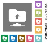 ftp navigate up flat icons on...   Shutterstock .eps vector #1139786456