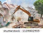 excavator crasher machine at...