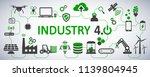 industry 4.0 infographic... | Shutterstock .eps vector #1139804945